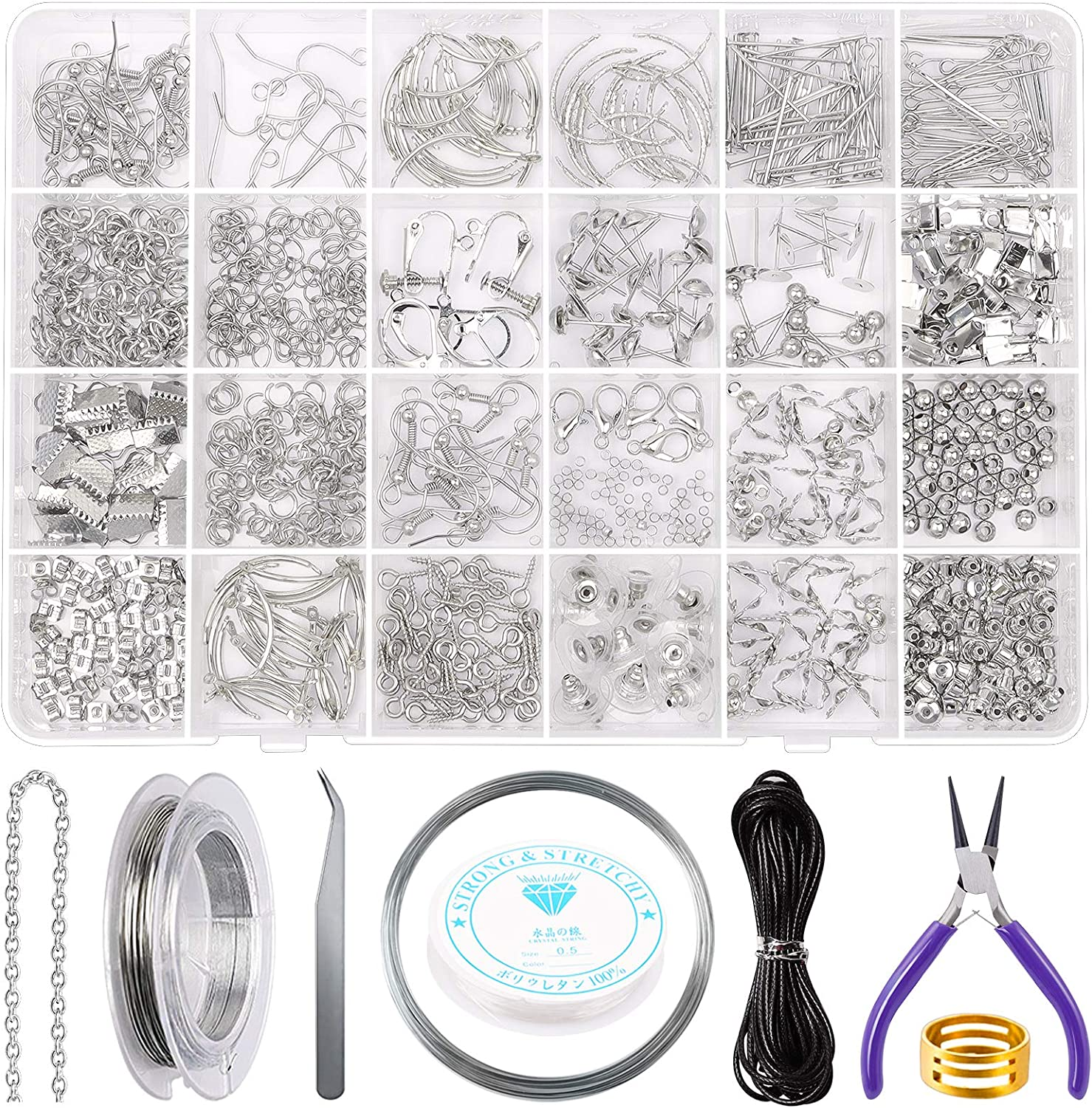 Earring Making Supplies Kit SONGIN Jewelry Attention brand Set Ea with Fort Worth Mall