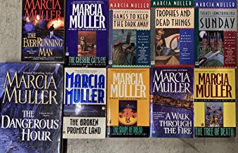 Sharon McCone Mystery Novel Series by Marcia Muller 10 Book Set