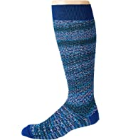 Striped Fiammato Degrade Socks