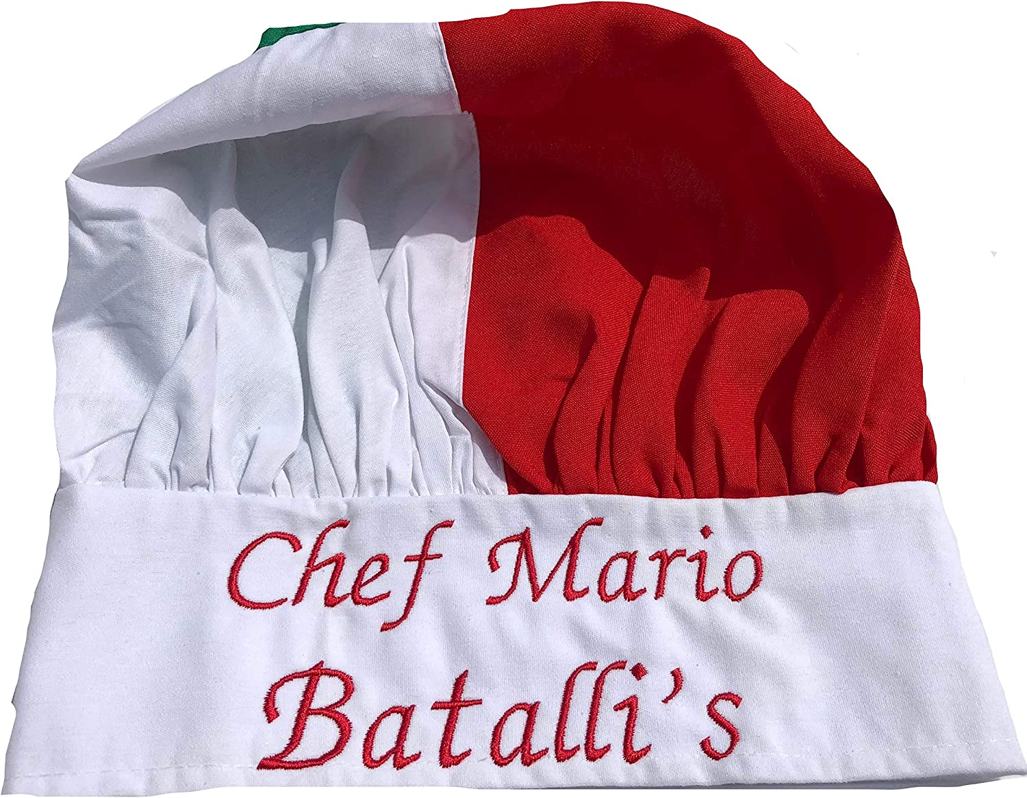 CHEFSKIN Regular discount Personalized Custom Be super welcome Embroidery Name Italian Italy Desig