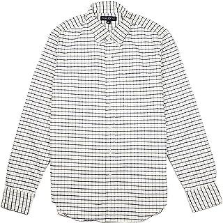 (ジェイクルー マーカンタイル)J.Crew Mercantileメンズ Men's 長袖 シャツ Slim-fit flex oxford shirt in small tattersall スモーキー パープル [並行輸入品]