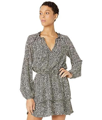 Show Me Your Mumu Tatum Mini Dress (Black Petite Cheetah) Women