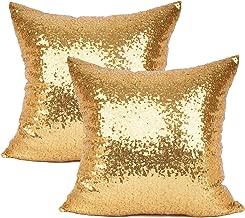 Best gold glitter cushions Reviews