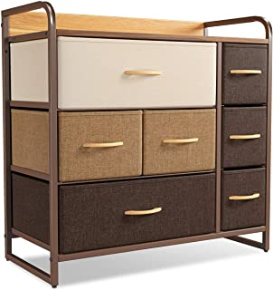CubiCubi Dresser Organizer with 7 Drawer, Furniture...