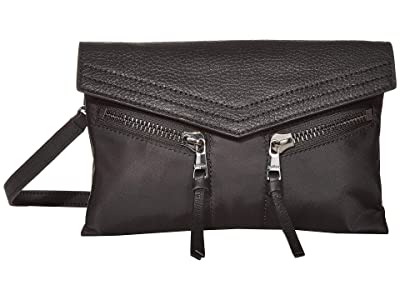 Botkier Trigger Nylon Crossbody (Black) Handbags