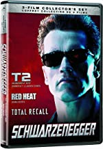 Schwarzenegger - T2 : Judgment Day / Red Heat / Total Recall