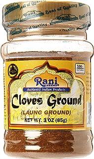Rani Cloves Powder (Laung) Indian Spice 3oz (85g) PET Jar ~ All Natural, Gluten Free Ingredients   NON-GMO   Vegan   India...
