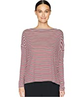 Vince - Midi Stripe Off Shoulder Top