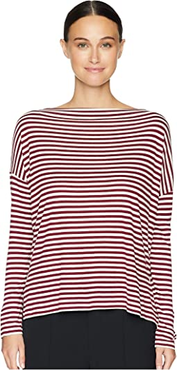 Midi Stripe Off Shoulder Top