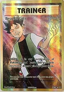 POKEMON, EVOLUTION, BROCK'S GRIT 107/108 FULL ART, MINT , NEW