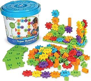 Learning Resources LER9164 Gears! Gears! Gears! Super Building Set (150 Piece),Mini,Multi