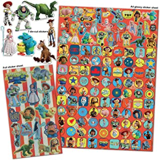 Paper Projects 9124103 Toy Story 4 Mega Sticker Pack, 29,7 cm x 21 cm