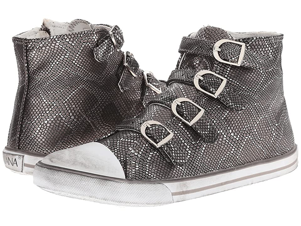 Amiana 15-A5172 (Toddler/Little Kid/Big Kid/Adult) (Pewter Python) Girls Shoes