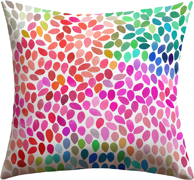 Deny Designs Aimee St Hill Farah bluee Outdoor Throw Pillow