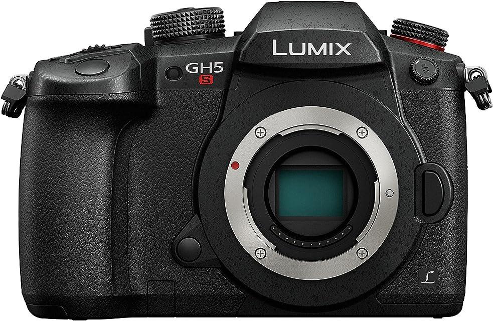 Panasonic Lumix DC-GH5S - Cámara EVIL de 10.28 MP ISO Base Nativo Dual Visor OLED 4K DCI TC IN/OUT RAW 14 bits Pantalla Táctil Color Negro