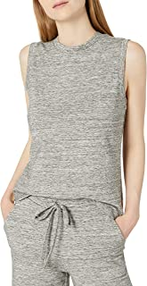 Daily Ritual Amazon Brand Women's Terry Cotton and Modal Tank Top