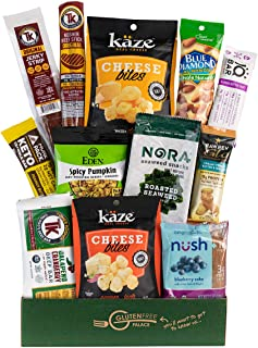 KETO SNACK BOX - Packed with Low Carb Snacks (4 G or Less), Low Sugar Snacks (2 G or Less), Gluten Free | INDEPENDENCE DAY...
