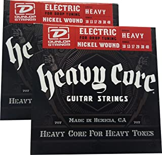 Dunlop Heavy Core Heavy Electric Guitar Strings 10-48- 2 Pack