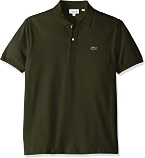 Lacoste Short Sleeve Pique L.12.12 Classic Fit Polo Shirt, L1212, Sirop Pink, X-Small