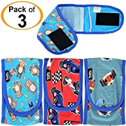 FunnyDogClothes Pack of Dog Puppy Diapers Male Boy Belly Band Wrap Reusable Washable for Small Dog Breeds