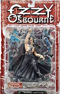 McFarlane Toys Ozzy Osbourne Heavy Metal Action Figure with Diorama and Headless Bats
