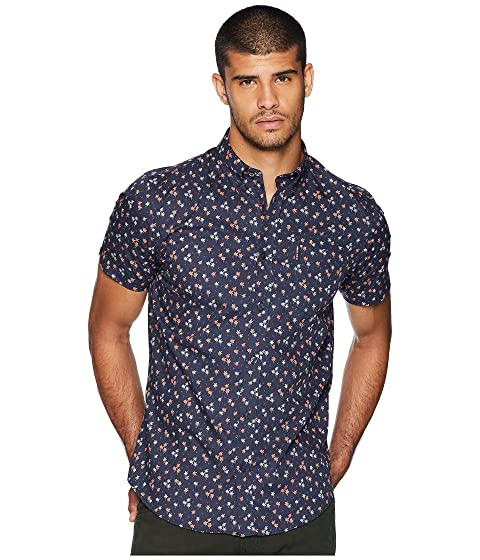Shirt Short Ben Sherman Palm Sleeve Print Tree Yw5w8F