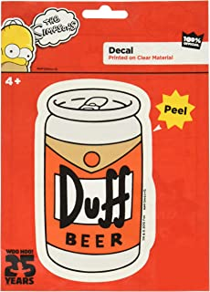 The Simpsons ST SF DB01 Duff Beer Can