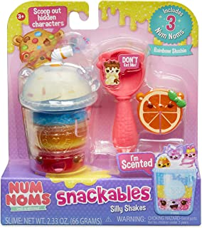 Num Noms Snackables Silly Shakes- Rainbow Slushie, Multicolor