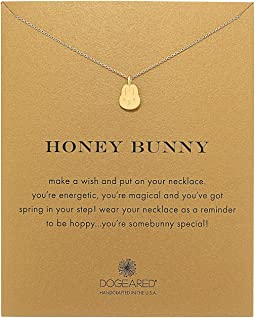 Dogeared - Honey Bunny Reminder Necklace