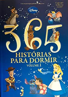 365 Histórias Para Dormir - Vol.1 - Capa que Brilha no Escu