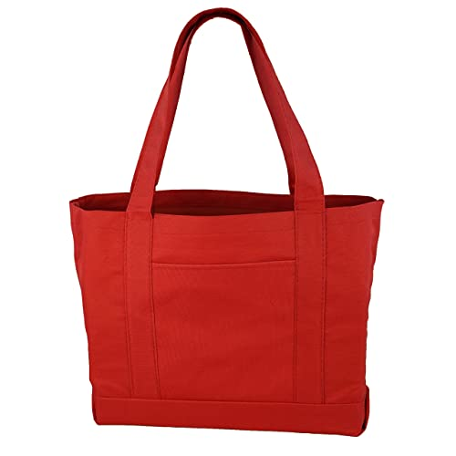 5ba2cec07d9 Daily Tote with Shoulder Length Handles and Outside Pocket