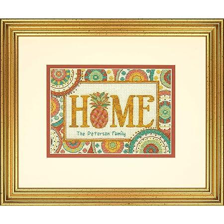 mehrfarbig Dimensions X Stitch Kit Sweet Home