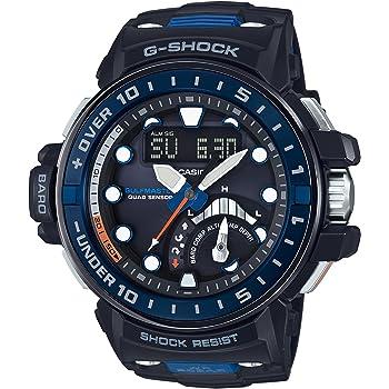 [カシオ] 腕時計 ジーショック MASTER OF G ガルフマスター 世界6局対応電波ソーラー GWN-Q1000-1AJF ブラック