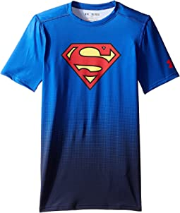 Under Armour Kids - DC Comics Base Layer Short Sleeve (Big Kids)