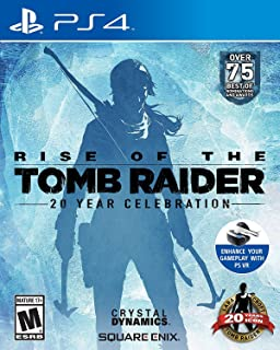 RISE OF TOMB RAIDER By Square Enix Region 2 - PlayStation 4