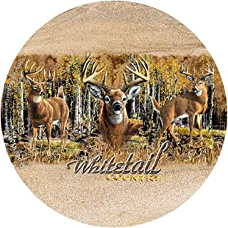 Thirstystone Drink Coaster Set, Whitetail Country