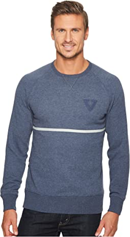 VISSLA - Sooke Bay Crew Fleece Top