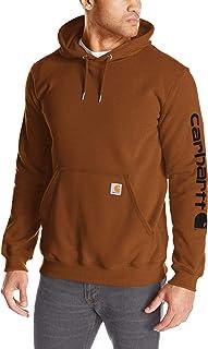 Carhartt Men's Midweight Sleeve Logo Hooded Sweatshirt Shirt