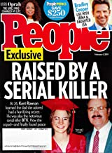 People Magazine February 4, 2019, BTK KILLER'S DAUGHTER KERRI RAWSON Cover, Oprah, Bradley Cooper