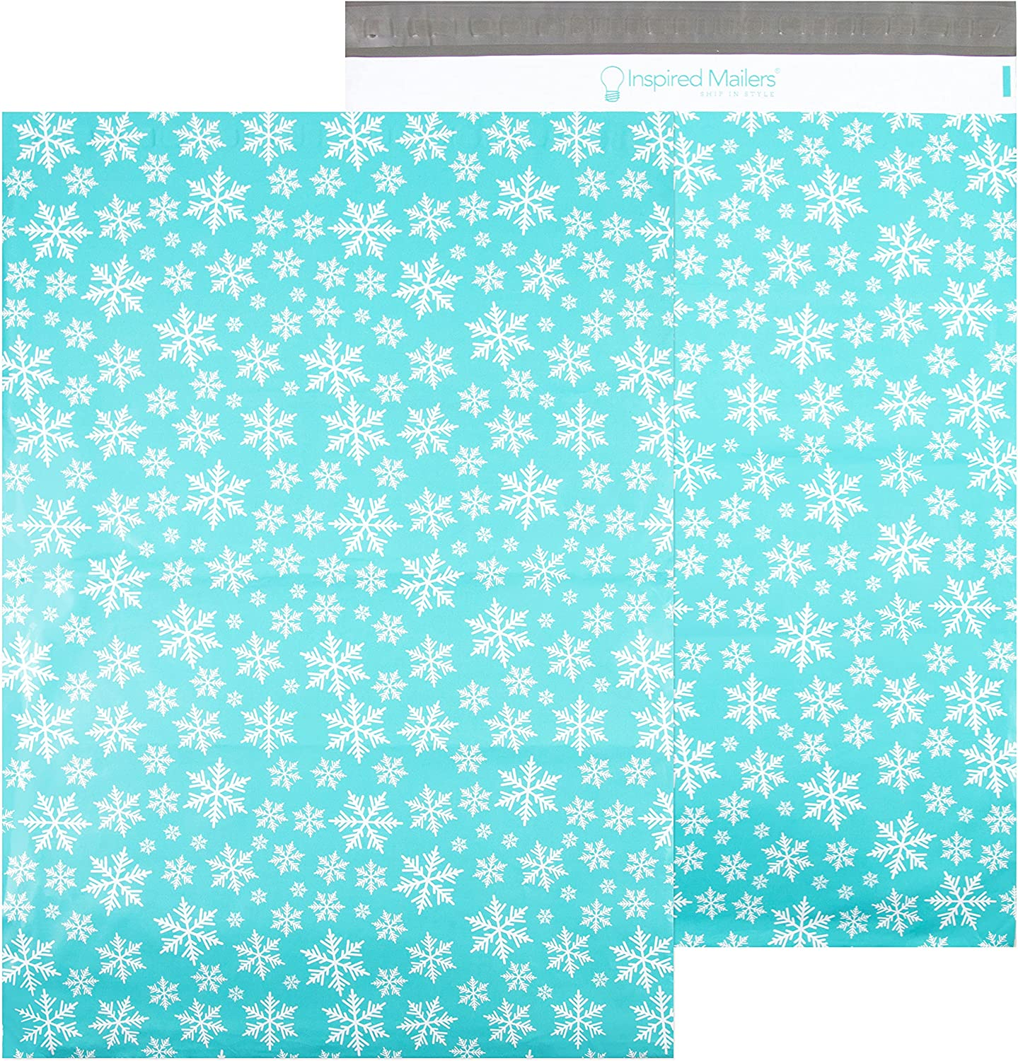 Inspired Mailers - Poly Max 69% Max 41% OFF OFF 16x22-50 Winter Pack Blue Snow