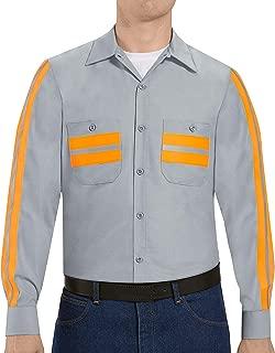 Red Kap Men's Industrial Work Shirt