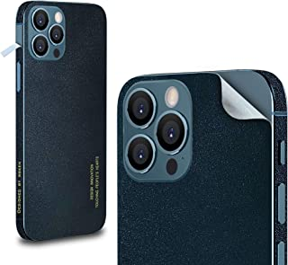 WSKEN for iPhone 12 pro max Sticker Skin Protector (Not Phone Case) Genuine Leather Cover,[Slim Fit] Scratch Resistant,Bac...