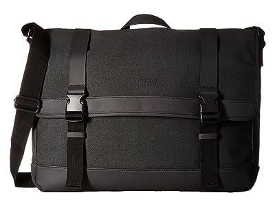 Kenneth Cole Reaction Urban Artisan 15.0 Computer Messenger Bag (Charcoal) Bags