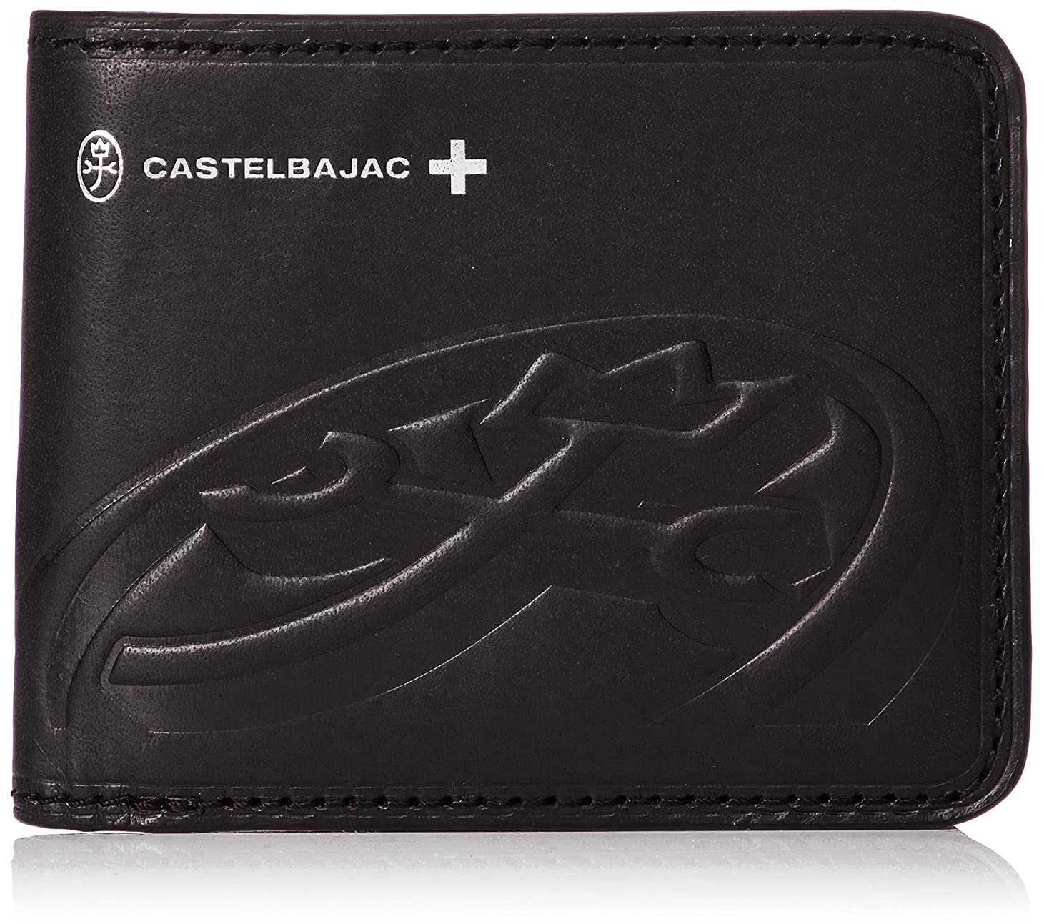 最適記念碑的なヒューム[カステルバジャック] ブレス 二つ折り財布 32602