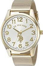 U.S. Polo Assn. Classic Men's Quartz Metal and Alloy Watch, Color:Gold-Toned (Model: USC80377)