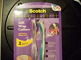 Scotch Gift Wrap Cutter - 2 Pack - Colors May Vary