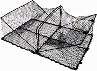 "Promar Collapsible Crawfish/Crab Trap 24""x18""x8"" – American Maple.."