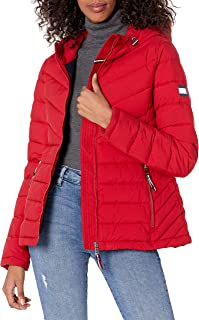 womens Stretch Packable Hooded Jacket