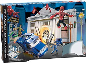 Spider-Man 3: Sandman Bank Heist by Mega Brands