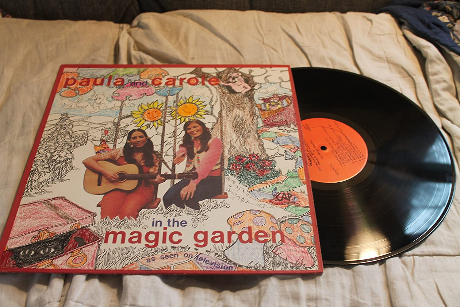 Paula and Carole - In the magic garden - as seen on television LP Record